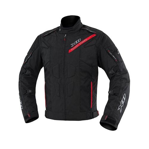 jaqueta preta com tecido cordura para motociclistas