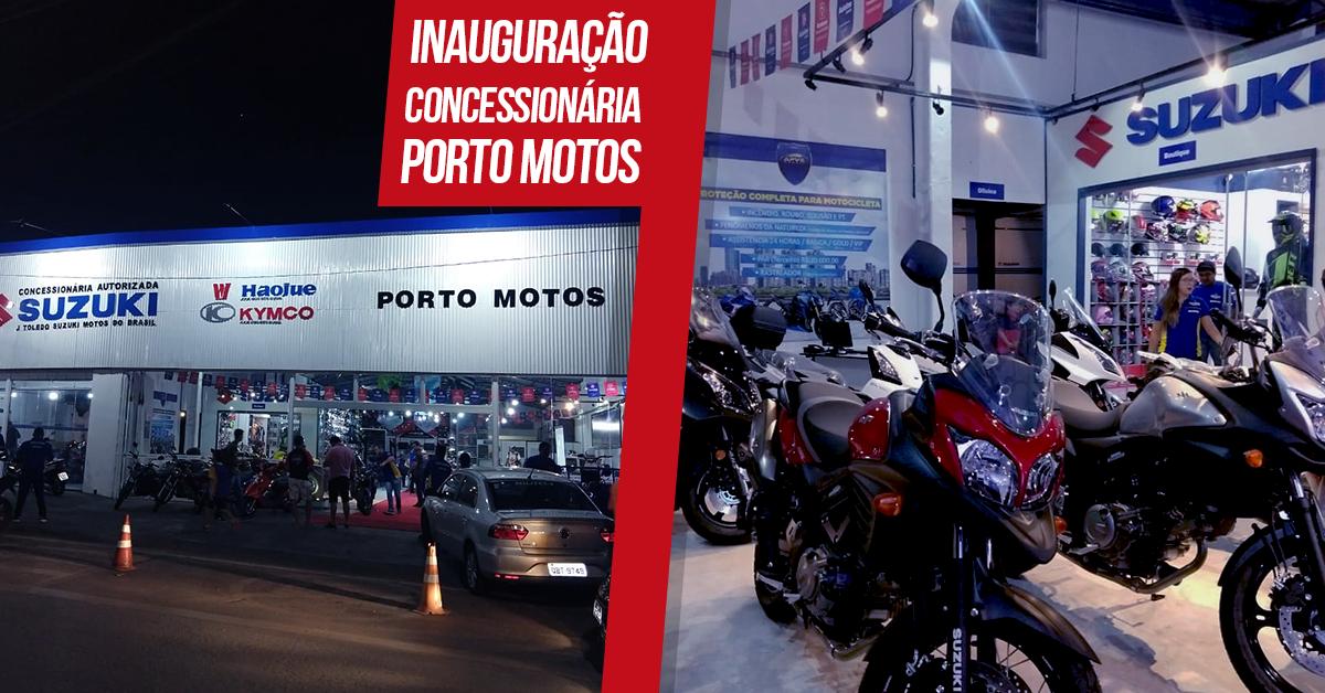 Imagem da fachada da Concessionária Porto Motos