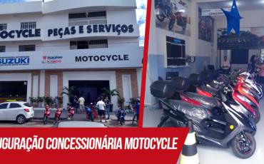 Fachada da entrada da Motocycle